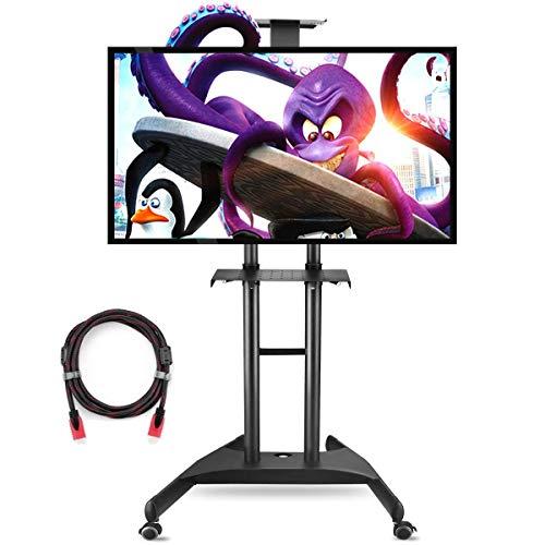 Mobile TV Cart Universal Ständer Für 32 Bis 70 Zoll Displays VESA Bis Zu 600x400mm 45KG Suptek ML5075 -
