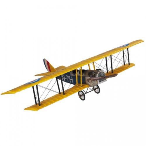 Authentic Models AP 401 - Flugzeugmodell - Jenny JN-7H Classic - Medium - handgefertigt 80 x 51 x 18 cm