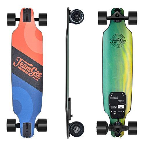 Teamgee H8 Skateboard Eléctrico - Longboard para Adultos con Control Remoto, Motor...