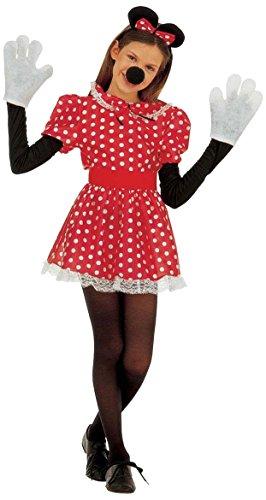 Sancto - Disfraz de ratón para mujer, talla 158 (3671 L)