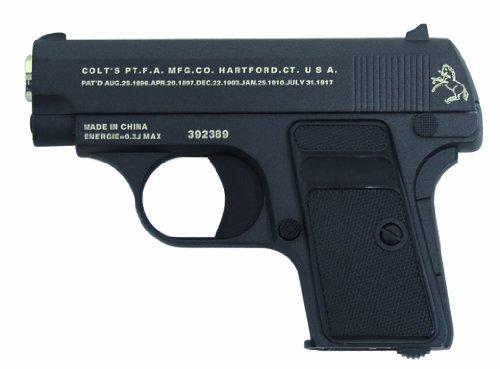 Colt Softair Pistole 25 Vollmetall, schwarz, 202193 des Herstellers Colt