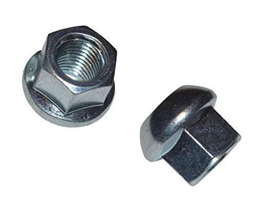 FKAnhängerteile 10 Stück - Kugelbundmutter - Radmutter - M14 x 1,5 - DIN 74361-8 A - verzinkt