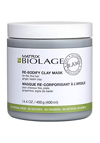Matrix Biolage R.A.W. Re-Bodify Clay Mask, 1er Pack (1 x 400 ml)