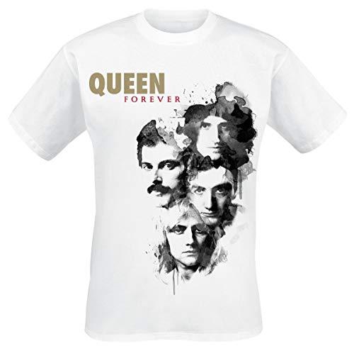 Queen Forever Camiseta Blanco L