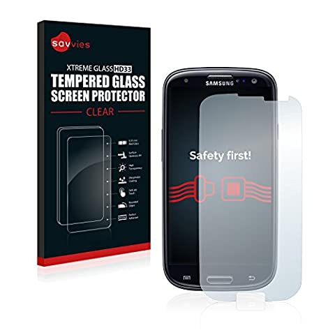 Savvies Film Protection Verre Trempé Samsung Galaxy S3 Neo I9300I