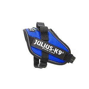 Julius-K9, 16IDC-B-MM, IDC Powerharness, dog harness, Size: Mini-Mini, Blue