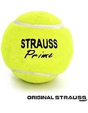 Strauss Tennis Cricket Ball, (Pack of 3)