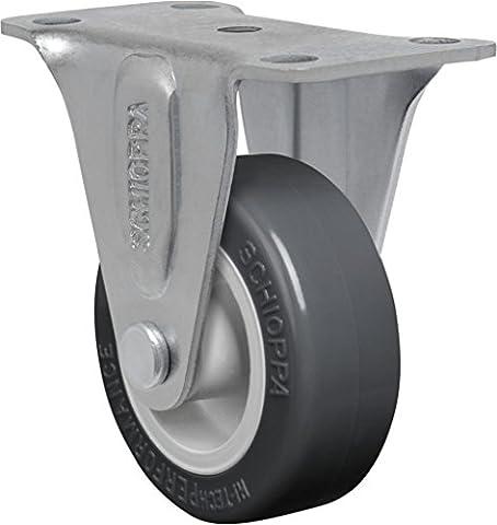 Schioppa, FL 210to, 5,1cm (50mm) rigide Roulettes sans frein Caster,