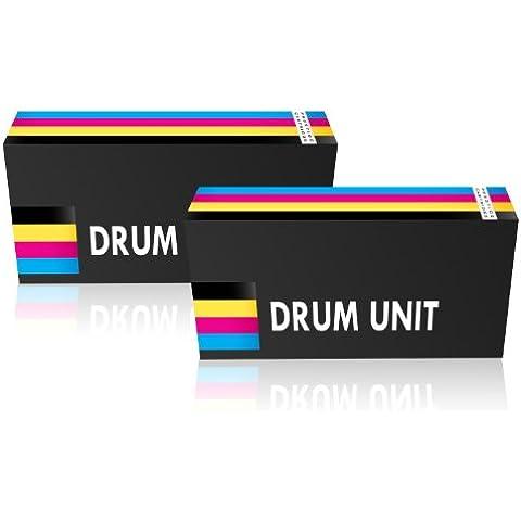 Prestige Cartridge CE314A - Pack de 2 tambores compatibles para HPCP1020/CP-1025/M175, tricolor y negro
