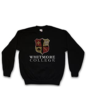 WHITMORE COLLEGE SWEATSHIRT – scuola Vampiro Vampir Blood università Blut Diaries Uni Taglie S – 3XL