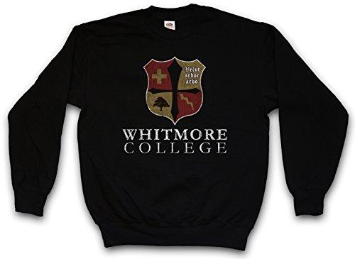 Urban Backwoods Whitmore College Sweatshirt Pullover - Vampire Vampir Blood Schule Blut Diaries Uni Universität Größen S - 3XL College-pullover Sweatshirt