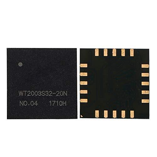 Denash MP3-Chip - WT2000S32-20N Hochwertiges Audio-MP3-Chip-Funkmodul Integrierter 32-Mbit-SPI-Flash, TF-Karte, U-Disk - Unterstützt bis zu 32-G-TF-Karte und 32-G-U-Disk -