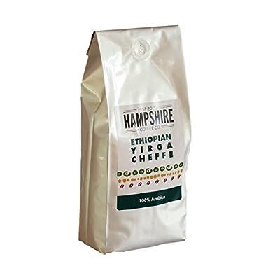 Hampshire Coffee Co - Ethiopian Yirgacheffe - Award Winning UK Roaster - Coffee Beans 500g Bag - 100% Arabica Beans by Hampshire Coffee Co.