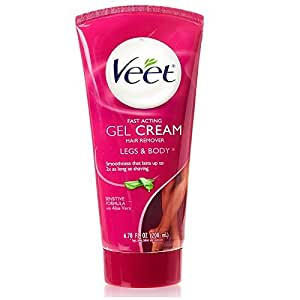 Veet Gel Cream Sensitive Formula Hair Remover With Aloe Vera And