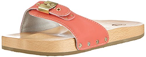 44afd0f3579 Scholl Pescura Sporty Flat Coral- Women s Clogs