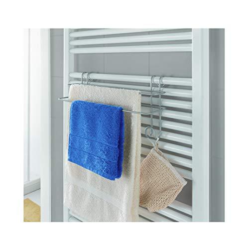 Metaltex - Toallero Doble para toallero eléctrico de Pared Revestimiento Polytherm