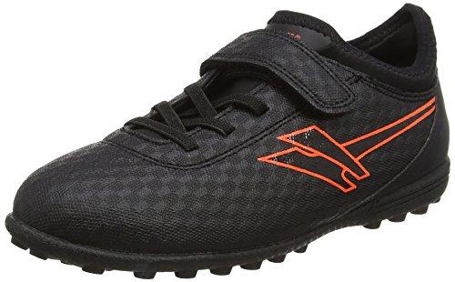 Gola Sparta VX, Jungen Fußballschuhe, Schwarz (Black/Orange), 29 EU (11 UK) (Schuhe Schwarz Gola)