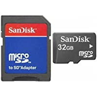 32GB Micro SD SDHC Tarjeta de tarjeta de memoria Memory Card + Adaptador SD para LG Bello II Class F60F70G Flex 2Pro 3G3S Stylus G4Stylus G4C G4S G5K10K4, K5, K7K8L Bello Fino L35L50L65L80Leon Magna