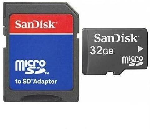 32GB Micro SD SDHC Speicherkarte Karte Memory Card + SD-Adapter
