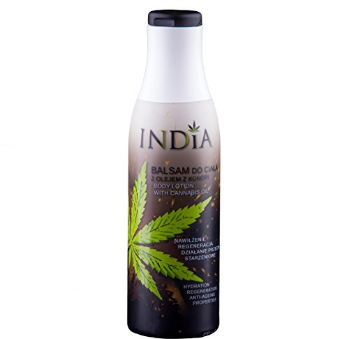 Bodylotion mit Cannabis Öl Premiumqualität in 400ml XXL Größe