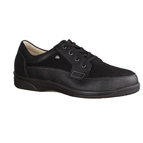 FinnComfort PRESCOTT 03004901258 hommes Chaussures à lacets Noir