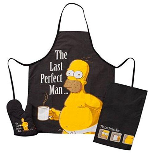 Simpsons Barbacoa-Set cocina delantal paño cocina