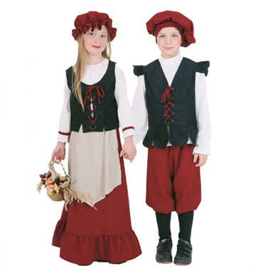 PARTY DISCOUNT Kinder-Kostüm Bauern-Junge, Gr. 152 TOP-QUALITÄT