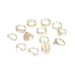 Beito Elettrolitico Foglia Anelli Anello con i Modelli di Diamanti in Oro Anelli Anelli Speciali per Il Partito per la…
