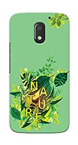 Kaira High Quality Printed Designer Back Case Cover For Motorola Moto E3 Power(Nature)