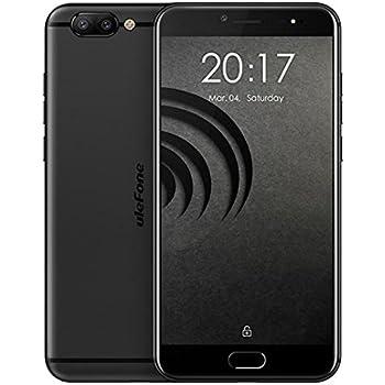 Ulefone Gemini Pro - Android 5,5 pollici FHD schermo 4G smart Helio X27 Deca Core 2.6GHz, 4GB RAM + 64GB ROM, fotocamere triple (fotocamera frontale 8MP e fotocamera posteriore SONY IMX258 13MP + 13MP) Impronta digitale Tipo-C - Nero
