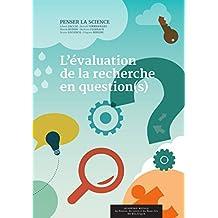 L'évaluation de la recherche en question(s) (Monographies)
