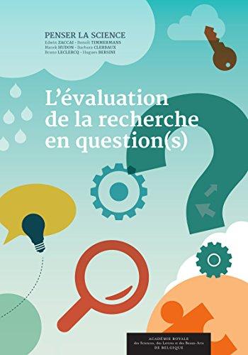 L'valuation de la recherche en question(s)