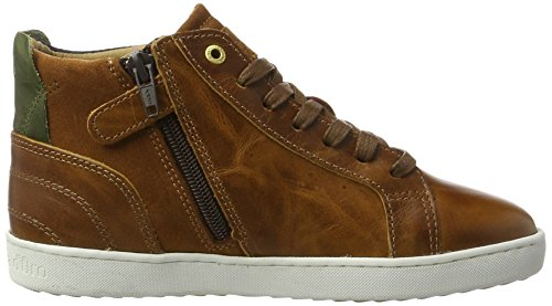 Pantofola d'Oro Jungen Canaverse Ragazzi Mid Hohe Sneaker Braun (Tortoise Shell)