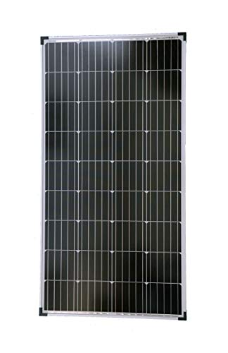 130w Solarpanel (solartronics Solarmodul 130 Watt 1290x674x35 Monokristallin Solarpanel Solarzelle 5 Busbars 12V)