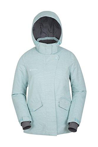 Mountain Warehouse Chamonix Damen-Skijacke Hellgrün DE 46 (EU 48) Isolierte Ski-mantel-frauen