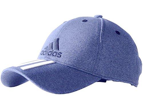 Adidas pour homme Bleu clair réglable emblématique 3bandes brodée Casquette de baseball à...