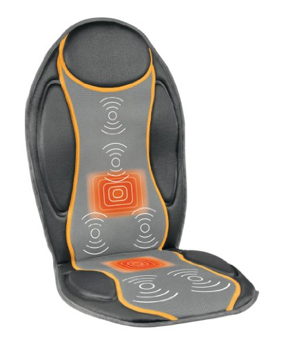 Medisana MC 810 Vibrations-Massagesitzauflage 88937, grau/gelb -