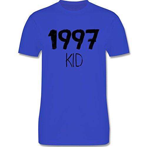 Geburtstag - 1997 KID - Herren Premium T-Shirt Royalblau