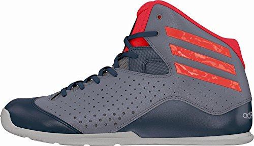 adidas Nxt Lvl Spd IV, Chaussures de Sport-Basketball Homme gris - Gris (Gris / Rojsol / Onix)