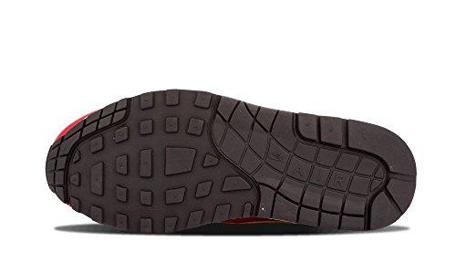 Nike Wmns Air Max 1 Print, Scarpe sportive Donna university red sail black 602
