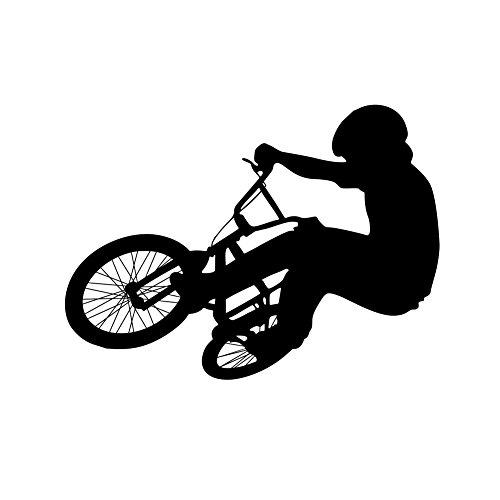 Bicicletta Sports Wall Stickers per Camera da letto Soggiorno Divano TV Sfondo Adesivi per la casa rimovibili Murals decalcomanie