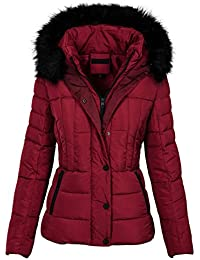 Golden Brands Selection Warme Damen Winter Jacke Parka Steppjacke Kurzjacke  Kapuze gefüttert B512 6afc7eb409