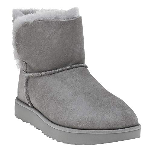 UGG® Classic Cuff Mini Damen Stiefel,Grau,39 EU -