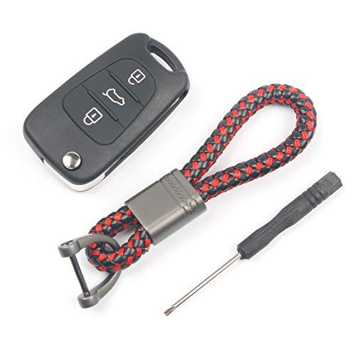 ip Klappschlüssel Shell Fernbedienung Auto Schlüsselanhänger Schutzhülle ()