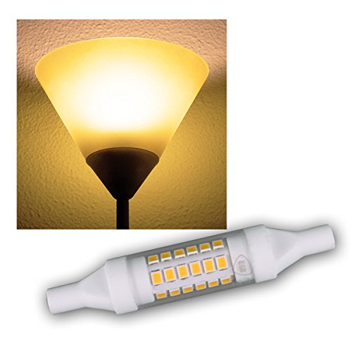 R7s LED-Slim-Leuchtstab 78mm warmweiß 490lm 5W