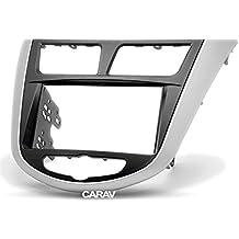 CARAV 11-105 2-DIN Marco de plástico para Radio para Hyundai i25,