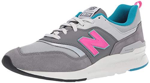 New Balance Herren 997H Sneaker, Grau (Castlerock/Peony), 47.5 EU