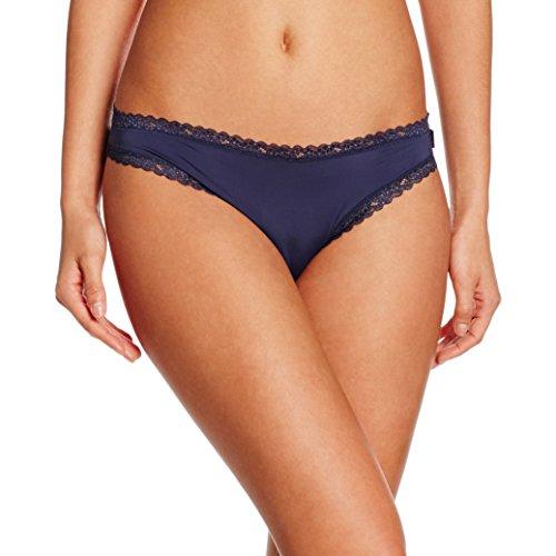 ESPRIT Bodywear Damen LISMORE Slip, Blau (Happy Navy 400), 38 Blauer Slip