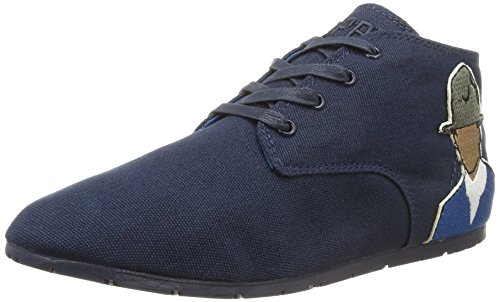Eleven Paris - Bastee Arel Patch, Sneakers da donna, blu (navy), 36