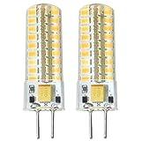Neueste G6.35 GY6.35 LED 5W Birne Leuchtmittel Hohe Helligkeit Äquivalent zu 60Watt Halogenlampe 12V Warm Weiß 3000K(2-Packs)